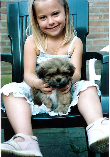 Lhasa Apso EL Minja's Jewel puppy foto and Kyli